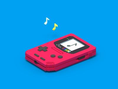Nintendo Tapes Mixtape - Voxel Cover Art