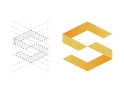 Logo Proposal 001 icon logotype isometric geometry scala logo branding