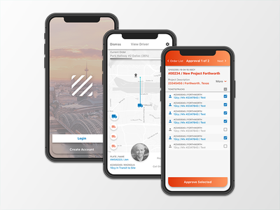 Construction App Proposal iphonex ux ui design proposal app construction