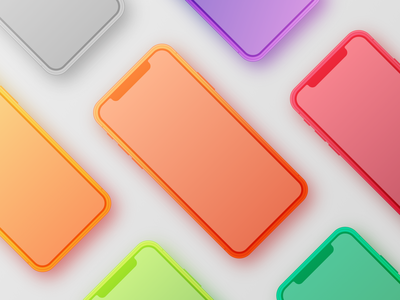 Device Customizer Project 001 template custom color iphonex comingsoon download free freebie