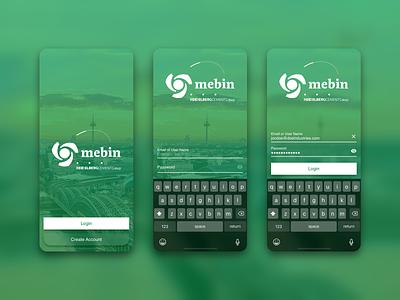 HCStyle - Login Concept login app design ui iphone ux concept sketch style