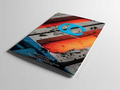 A rare print piece. photography branding trifold brochure marketing graphic design print materials