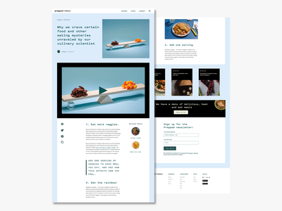 Blog Post Layout webdesign layout userinterface ui design uidesign ui typogaphy uiux blog design blog editorial design editorial layout editorial