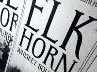 Elkhorn Typeface - A Final Look