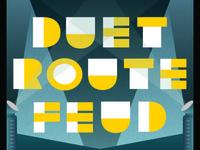 Retro/Futurism Type Treatment