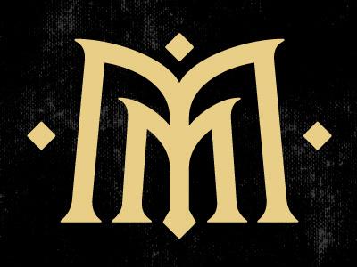 Mister Munn | Logo Monogram branding lettering typography monogram logo