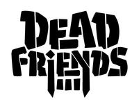 Dead Friends Band Logo Progress 2
