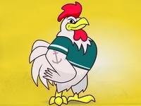 A cock named Johnson