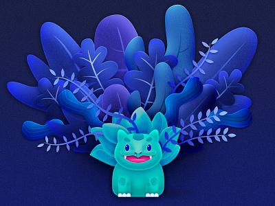 Pokémon isometric pokemon vector design illustration color