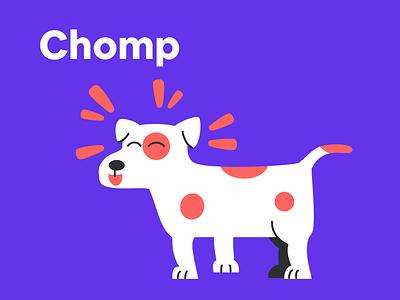 Chomp - Make pets happy ui app design app