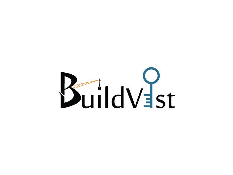 Buildvest Logo Design logo color estate real home icon branding graphics building build designer