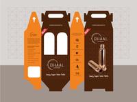 Copper Bottle Packaging