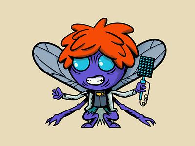 Baxter Stockman mutant human fly teenage mutant ninja turtles tmnt baxter stockman