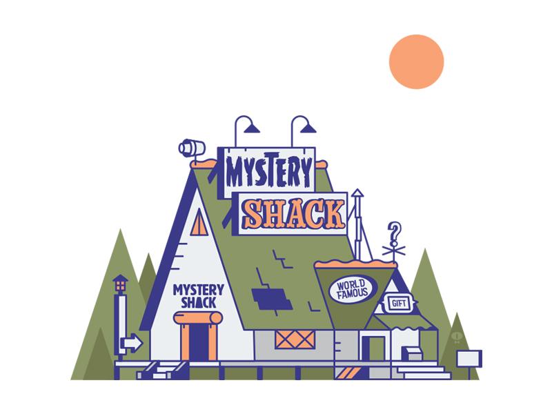 Mystery Shack gravity falls mystery shack
