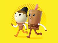 Ice Cream and Boba