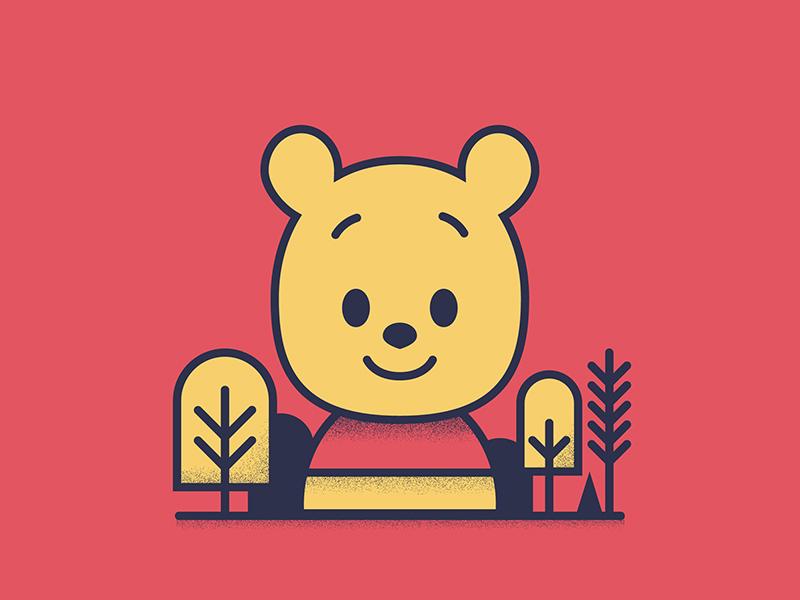 Winnie The Pooh disney art kidea winnie the pooh