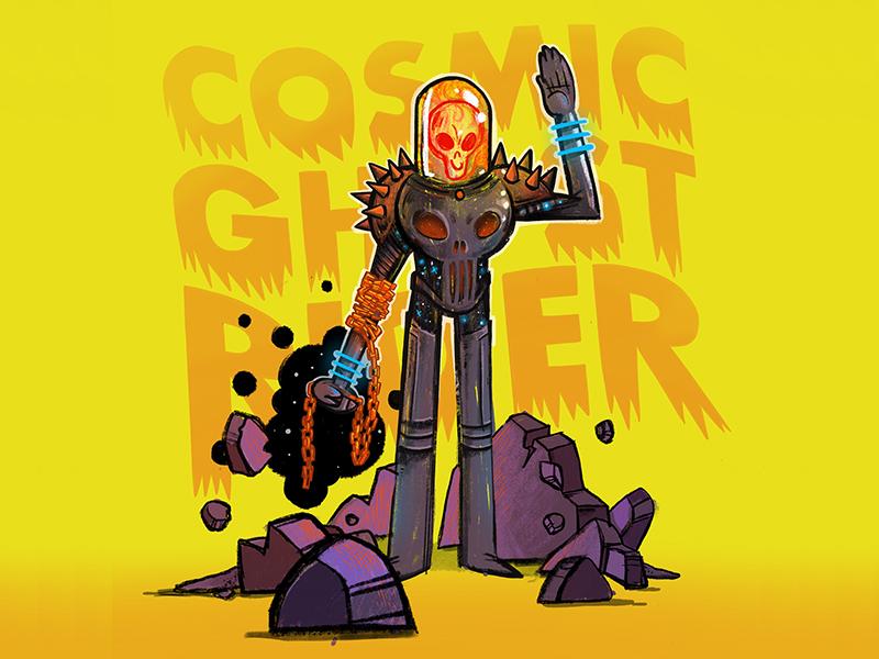 Cosmic Ghost Rider cosmic ghost rider