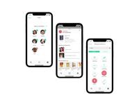 UI design for ScanFan app