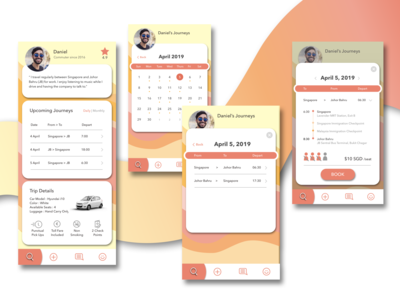 Coral Carpooling App