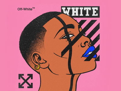 Off-White Face illustration