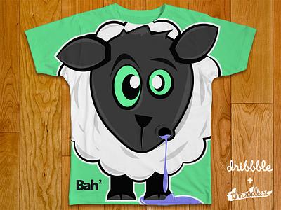 Bah Bah Inc. bah sheep shirt threadless illustration clothing cartoon