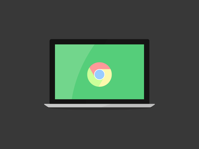Chromebook vector icon chromebook google laptop netbook os mobile ultrabook screen chromeos computer