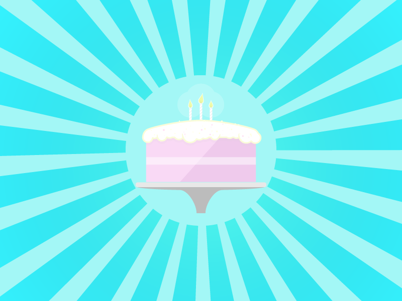 Birthday cake birthday cake celebration candle frosting card yummy food surprise sunburst fire wax