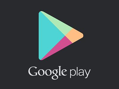 Google Play Vector (.AI & .PSD included) psd ai vector illustrator photoshop google play google play logo icon store market app identity illustration cs6