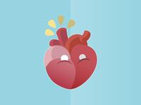 Fat Heart = Cholesterol