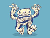 Delections Skull