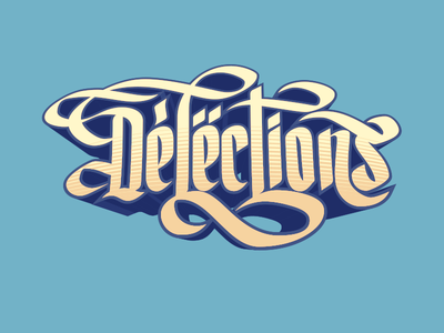 Delections Lettering