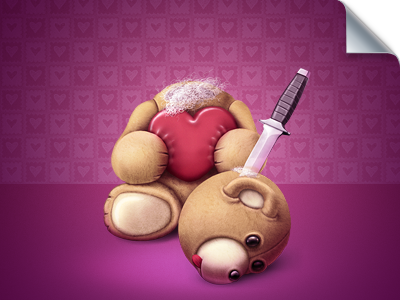 Teddy Bear icons icon gift illustration lj teddy bear toy valentine wladza photoshop virtual character