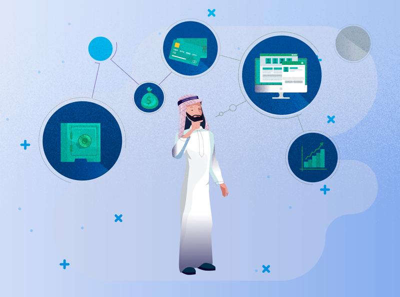 Arabic man man arabic ilustration animation vector art draw illustration sketchbook digitalart drawing