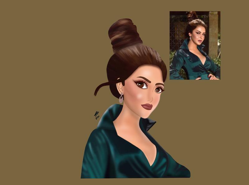 Fashionista Cartoon illustrator vector cartoon illustration procreate fashion art sketchbook digitalart draw drawing
