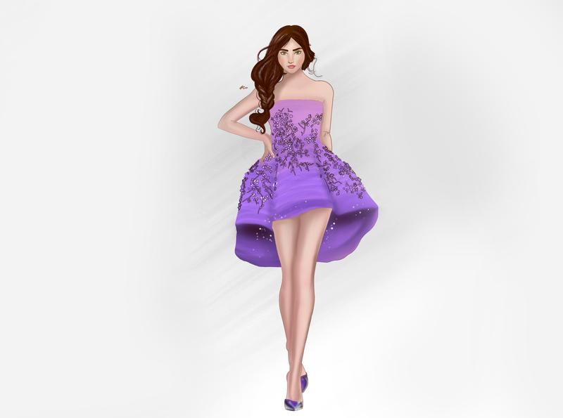 Costume design vector design illustrator fashion digitalart illustration art draw procreate sketchbook drawing