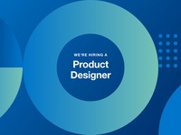 We're hiring a Product Designer