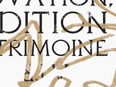 Focus on branding psd brush typeface letter font logo logotype illustration web vector identity graphism typography branding design