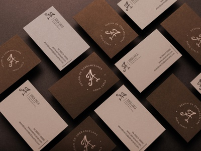 Adria Carla - Logo (by Estúdio Paladino) branding adobe photoshop 2d vector minimal icon logo design