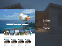 Travel & Accommodation App - #UI Exploration