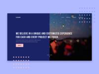 Landing Page - Exploration