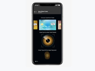 Daily UI Challenge -002/100 Credit Card Checkout progressive web app pwa mobile website design mobile website credit cards scan touch id thumbprint paypal paytm payment ux app ui ux mobile app ui credit card form credit card daily 100 challenge eye scan credit card payment daily ui 002 daily ui