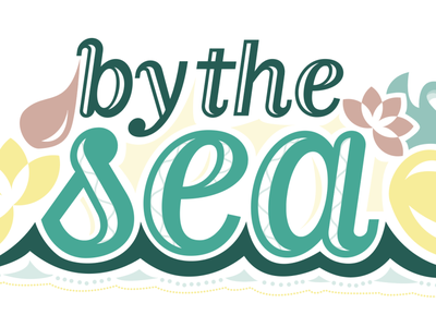by the sea typography design design typography art illustrator illustration lettering typography