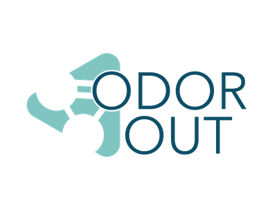 OdorOut Logo v2 icon vector logo branding illustrator design