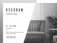Décorum Luxury Interior Design