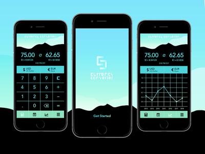 Jocelyn Wright / Projects / Currency Converter App | Dribbble