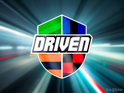 Teen Extreme 2019 Theme Logo: Driven