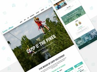 Camp o' the Pines 2019 Site Redesign
