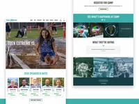 Teen Extreme 2018 Website Redesign