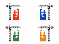 Simple Illustrated Cranes