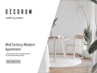 Décorum Interior Page Design